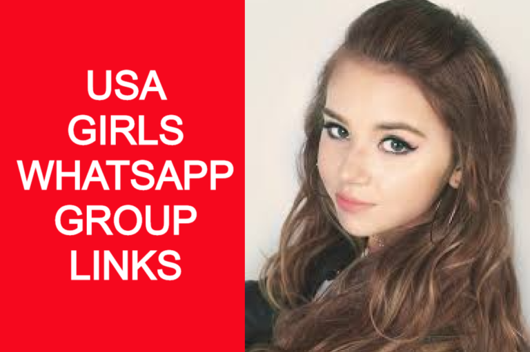 USA GIRLS WHATSAPP GROUP LINKS 2020 | WHATSAPP GROUP LINKS AMERICAN GIRLS |