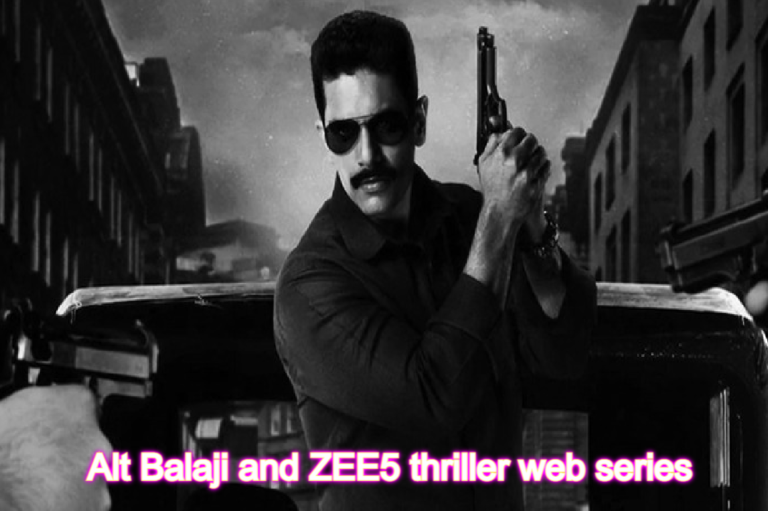Alt Balaji and ZEE5 thriller web series Mum Bhai Leaked By Tamilrockers and Filmyzilla