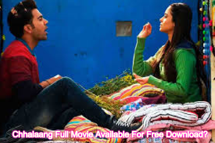 Chhalaang Movie On Telegram: Full Movie Available For Free Download?